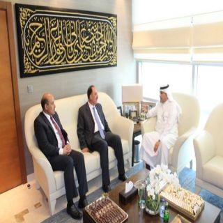 سفير المملكة لدى #الأردن يلتقي رئيس الجامعة الأردنية