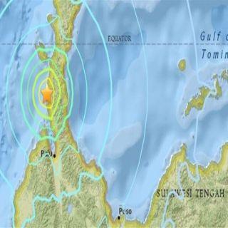 زلزال بقوة5.4 يضرب جزيرة سولاويسي في إندونيسيا