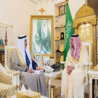 أمير القصيم يستقبل مدير العيادات الشاملة التخصصية لقوى الأمن بالمنطقة