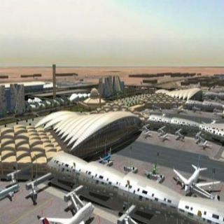 فرضية لسقوط طائرة بمطار الملك عبد العزيز في #جدة