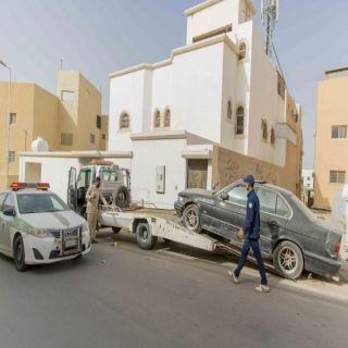 #أمانة_القصيم ترفع (413) سيارة مهملة من طرق وأحياء #بريدة