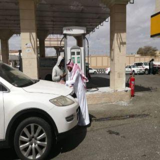 """بتوجيه من الدكتور """"الحميدي"""" أمانة عسير تُطلق حملة تقييم محطات الوقود"""