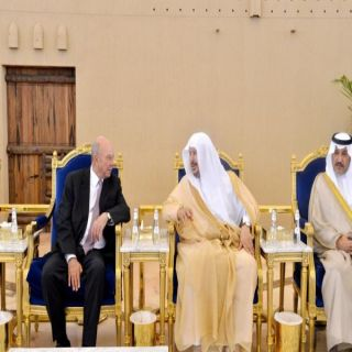 رئيس مجلس الشورى يستقبل رئيس مجلس الأعيان الأردني