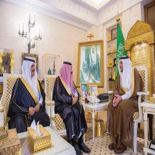الأمير فيصل بن مشعل يستقبل مدير فرع إدارة المجاهدين بمنطقة القصيم
