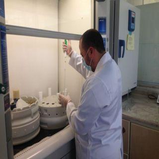 مختبر #أمانة_عسير يستقبل اكثر من 700 عينة خلال مارس الماضي
