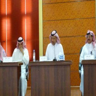 مُدير بيئة عسير يعقد إجتماعاً بمُدراء المكاب ووحدات البيئة بالمنطقة