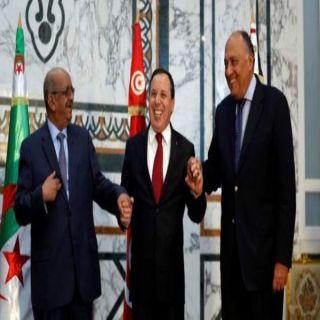 #الجزائر تدعو #مصر و #تونس لعقد اجتماع ثلاثي بشأن #ليبيا