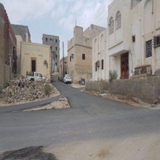 بالصور - بلدية #بارق تعمل على إستكمال سفلتة قُرى ثلوث المنظر