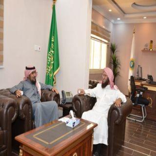 مدير هيئة #الباحة يستقبل مدير مركز التأهيل الشامل في المنطقة