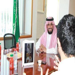 مُدير الأحوال المدنية في #مكة يستقبل وفد من معهد الأمل المتوسط والثانوي بجدة