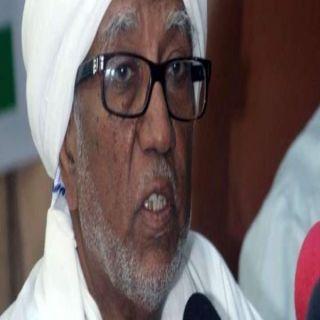 السلطات السودانية تعتقل رئيس البرلمان إبراهيم أحمد عمر فور عودته من #قطر