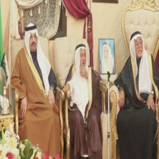 """بالصور - أمير عسير في ضيافة """"آل دهمان"""" في مُحافظة #تنومة"""