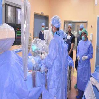#صحة_بيشة تُعلن بدء العمل  في قسم القسطرة القلبية بمستشفى الملك عبدالله ببيشة