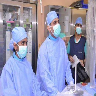 فريق طبي بمستشفى الملك عبدالله في بيشة ينجح في إجراء اول عمليه قسطره قلب