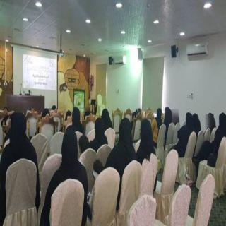 اللجنة الثقافية في #تنومة تُقيم أمسية شعرية نسائية
