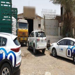 أمانة #جدة تضبط 36 طن بهارات منتهية الصلاحية بمستودع مخالف في الخمرة.