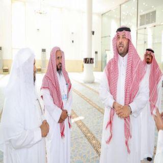 فيصل بن خالد يقف على إستعداد وجاهزية المساجد بعرعر