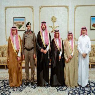 """أمير منطقة الشمالية يستقبل رئيس وأعضاء لجنة رعاية السجناء """"تراحم"""""""
