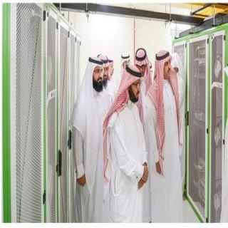#جامعة_الملك_خالد تفتتح مركز البيانات بالإدارة العامة لتقنية المعلومات