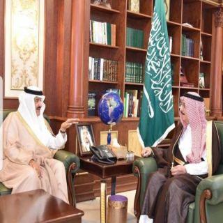 أمير #جازان يستقبل سمو رئيس مجلس إدارة الهيئة السعودية للفضاء