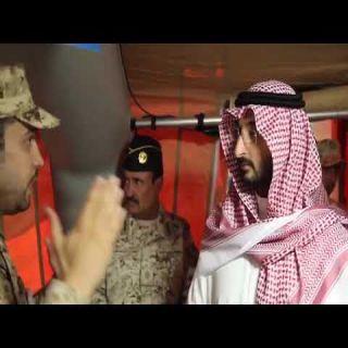 الأمير عبدالله بن بندر يقف على جاهزية وحدات الحرس الوطني على بالحد الجنوبي