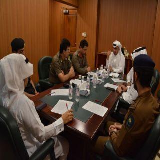 وكيل محافظة #محايل يرأس اجتماع اللجنة الأمنية بالمحافظة