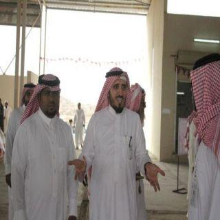 البناوي والبارقي يتفقدان السوق الرمضاني في #بارق