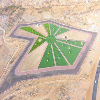 بالصور - بلدية بارق تُنفذ عدد من المشاريع التنموية في المنظر وربيعة وسيالة