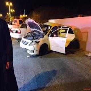 إصابة 4 في حادث تصادم في #المخواة أحدهم في حالته خطرة