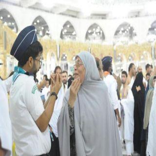 جمعية الكشافة السعودية ترفع عدد المتطوعين لخدمة المُعتمرين والزوار