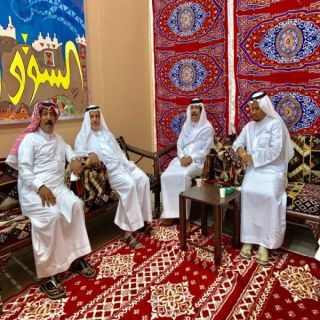 جمعية الثقافة والفنون تقيم الغبقة الرمضانية  بالسوق الشعبي في #عرعر