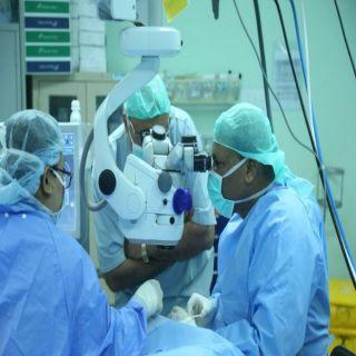 """247 مريضاً يبصرون في رمضان بالقصيم في مباردة """" ابصار صائم """""""
