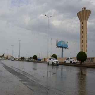 أمطار غزيرة على #نجران والدفاع المدني يُحذر
