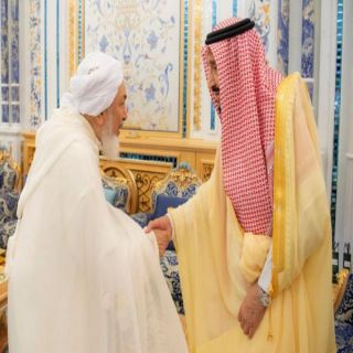 خادم الحرمين الشريفين يستقبل رئيس وأعضاء بمجلس الإفتاء الإماراتي