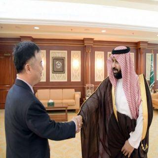 نائب أمير منطقة جازان يستقبل سفير جمهورية الصين الشعبية لدى المملكة