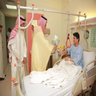 سمو محافظ حفرالباطن يزور المرضى المنومين ويشهد توقيع شراكات اجتماعية بالمستشفى المركزي