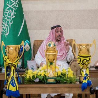 الأمير فيصل بن مشعل يحتفي بمنجزات أندية القصيم الرياضية