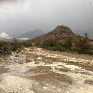 وطنيات ترصد بالصور والفيديو أمطار وادي الخير شمال ثلوث المنظر