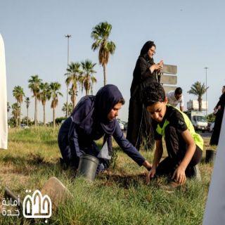 #أمانة_جدة و #أصدقاء_جدة يدشنون (بزرعتي تنمو مدينتي) لزراعة 200 شتلة