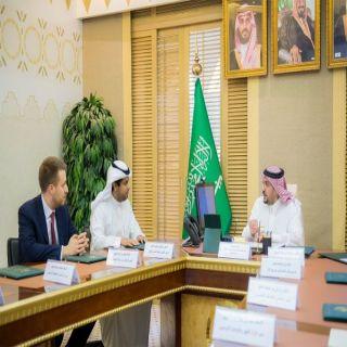 الأمير فيصل بن مشعل يستقبل الرئيس التنفيذي للتجمع الصحي بالقصيم