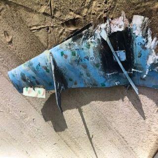 إسقاط طائرة مسيرة اطلقتها المليشيا الحوثية الإرهابية بإتجاه مطار الملك عبدالله  بـ#جازان