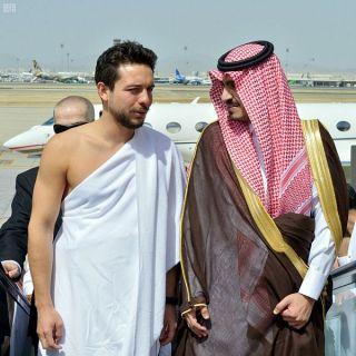 ولي عهد #المملكة الإردنية يصل #جدة