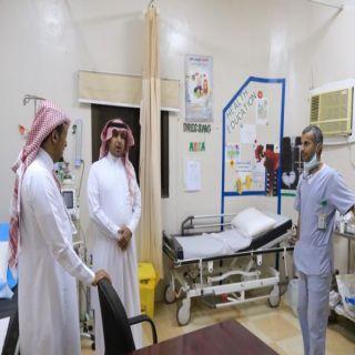 """""""آل منشط """" يتفقد المراكز الصحية في #بارق"""