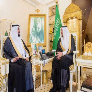 أمير #القصيم يستقبل صالح الجاسر بمناسبة تكليفه مديراً لتعليم القصيم