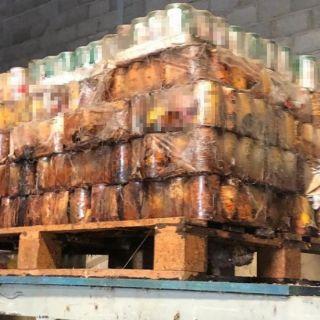 الغذاء والدواء تضبط 56 طناً مواد غذائية منتهية الصلاحية وتالفة في مستودع بجدة