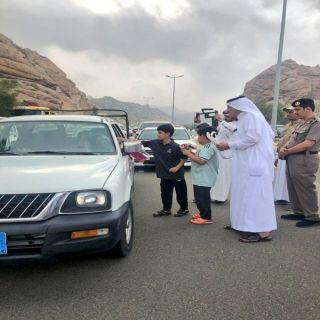 آل محضى يدشن مبادرة حسن الوفادة في #تنومة
