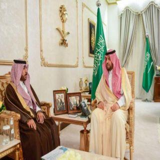 امير #الشمالية يستقبل مدير عام الطرق بالمنطقة