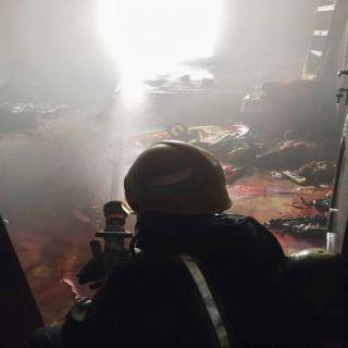 مدني املج يخمد حريق بشقة سكنية بحي الضويحي