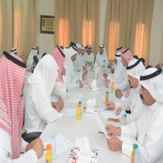 محافظ محايل المُكلف  يرأس اجتماع المجلس المحلي بمركز السعيدة