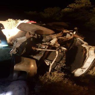 """وفة 3 وإصابة 4 من عائلة واحدة في حادث انقلاب مركبة بعقبة """"سنان"""""""